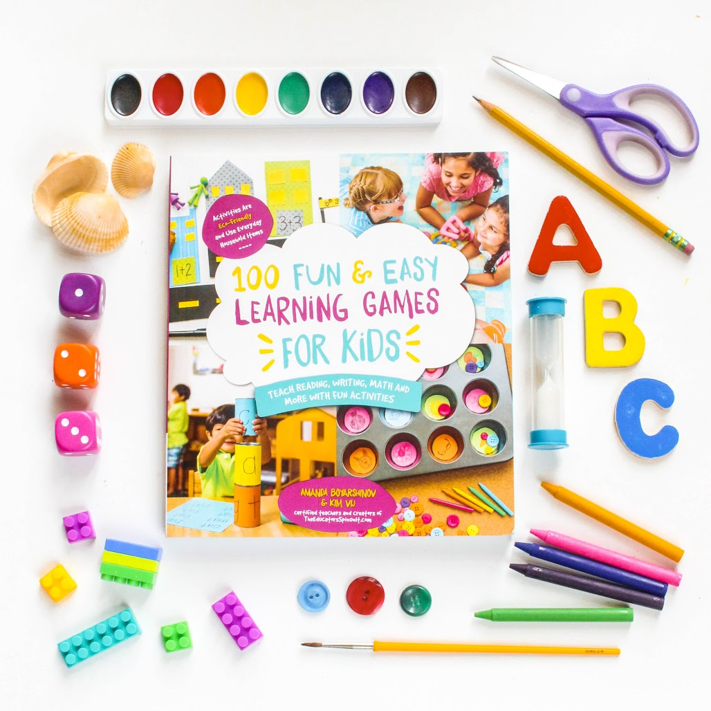 grab a copy of 100 Fun & Easy Learning Games for KIds