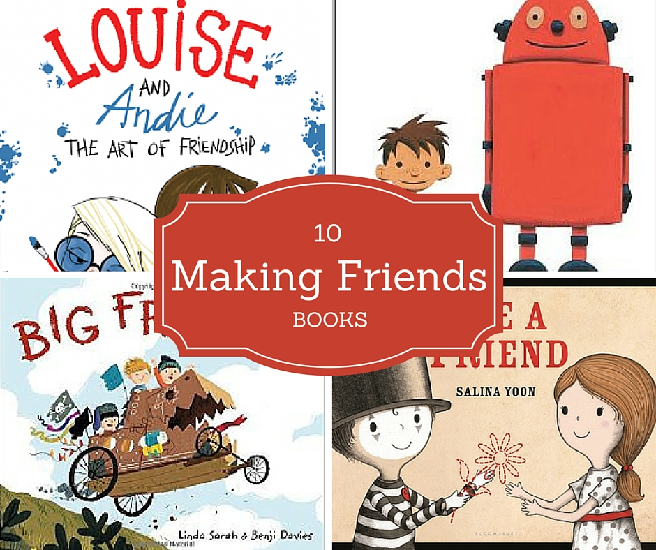 A book list about making friends for kids. A great introduction to talking about friendship.