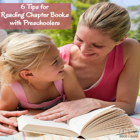 Reading chapter books to preschoolers has some great benefits. Here are some tips for getting the most out of the experience and help finding the best books to read to preschoolers.