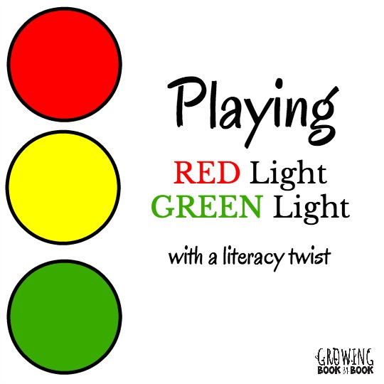 Play a round of the traditional Red Light Green Light game and then try this version with a literacy twist. It's a great way for kids to practice letter recognition, sight words or vocabulary words.