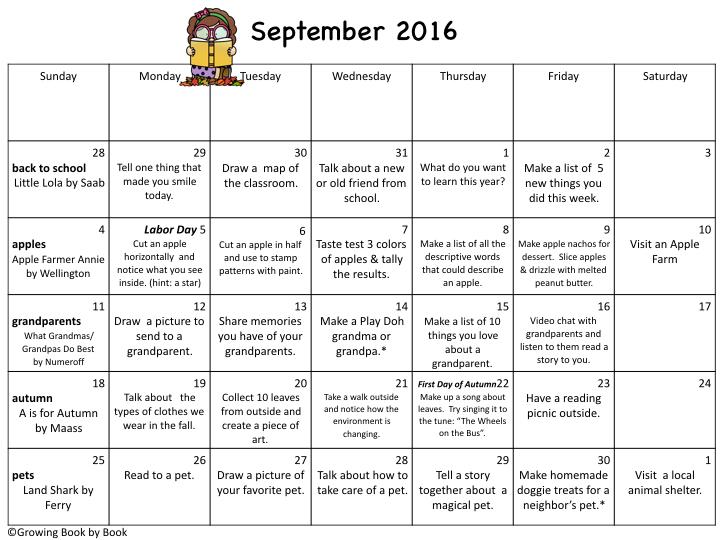 20162017 Activity Calendars – Sample School Calendar