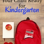 How can I help my child prepare for kindergarten. Here are 5 tips to help kids get ready for kindergarten. Great and easy tips.