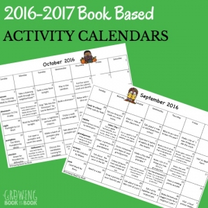 homework calendars for the 2016-2017 school year