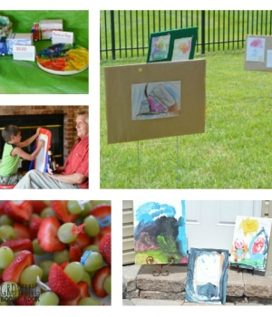Create your own children's art fair with this step-by-step guide. A great way showcase all the art your children make.