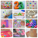 fantastic ideas for learning the alphabet and numbers
