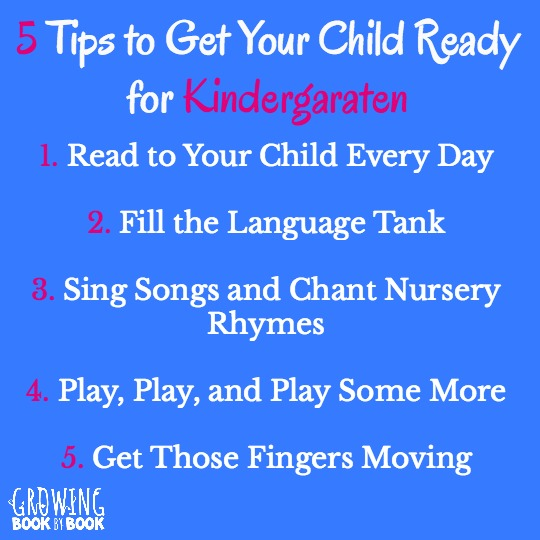 Tips for getting children ready to start kindergarten.