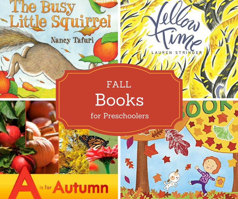 The best fall books for preschoolers include new releases and classic titles. Perfect read-alouds to read to preschoolers.