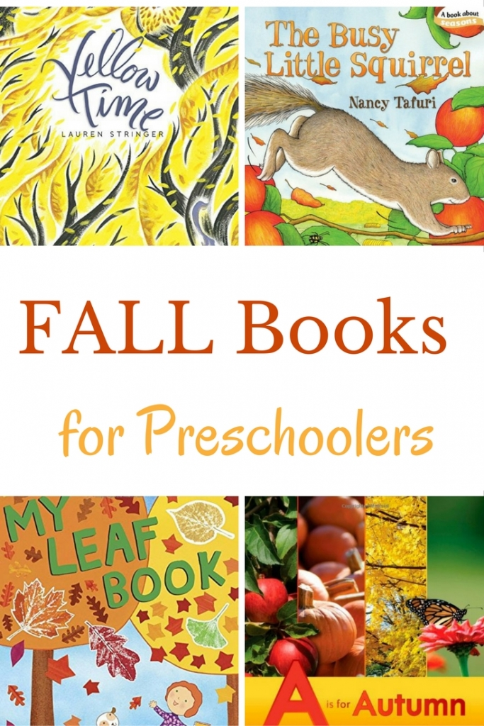 Fall books for preschoolers are a perfect way to help kids learn about the new season. New and older titles that are great to read-aloud are shared.