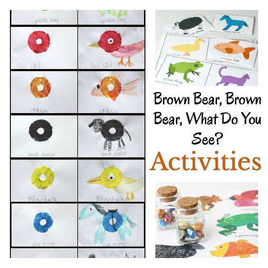 Brown Bear book ideas and activities