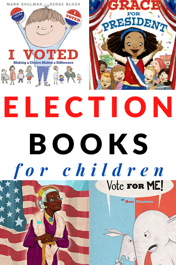 PRESIDENT BOOKS AND ELECTION BOOKS FOR CHILDREN