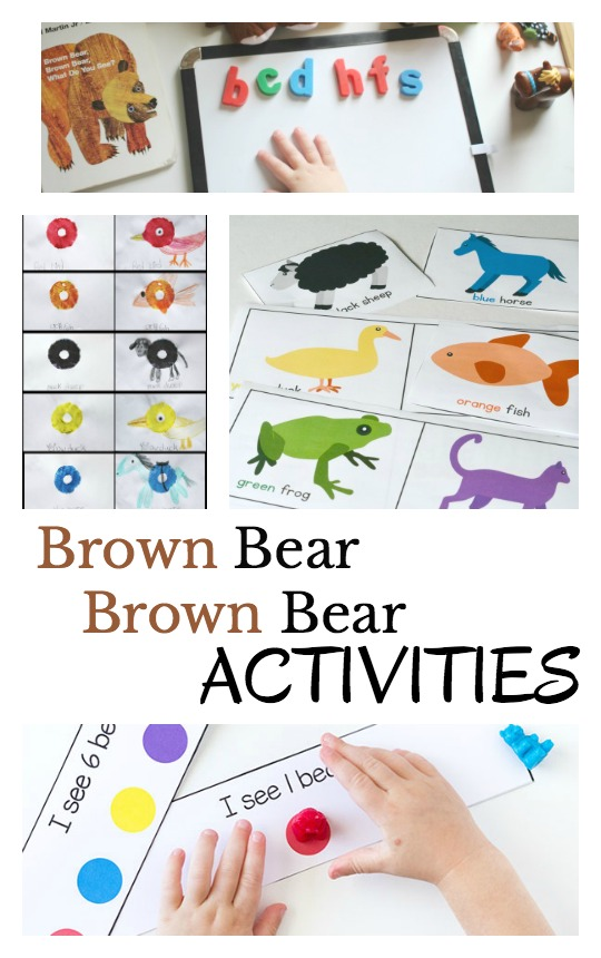 photo relating to Brown Bear Brown Bear Printable Book named 9 Astounding Brown Go through, Brown Undertake Pursuits for Younger Kids