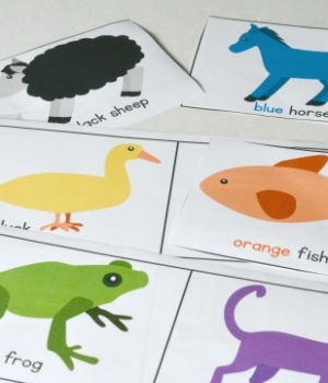 Brown Bear Brown Bear Printable Language Activity is a great way to get children asking questions and using critical thinking skills. It's the perfect activity to do after reading Brown Bear, Brown Bear, What Do You See?