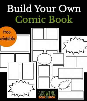 Design your own comic book with these free templates for creating a comic book. Perfect for kids who want to create their own superheroes.