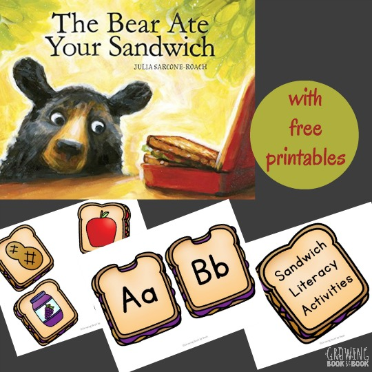 Use these The Bear Ate Your Sandwich Activities to build literacy skills. Perfect for Read for the Record Day too.