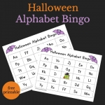 Halloween Alphabet Bingo perfect for Halloween parties and play dates to work on ABC recognition.