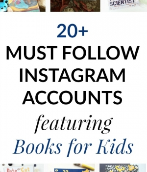 Great Instagram accounts to follow that share books for kids.