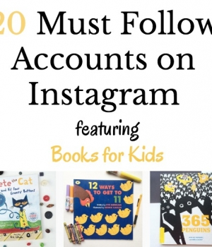 Follow these great Instagram accounts for discovering great picture books for kids.