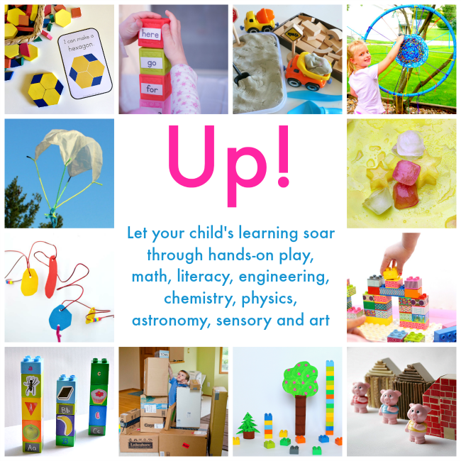 Over 30+ activities to do with kids to build literacy, science, math, and many more skills.