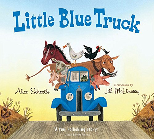 Little Blue Truck Abc Animal Pick Up