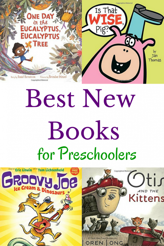 The best new books for preschoolers of the year. Check out these must read new children's books.