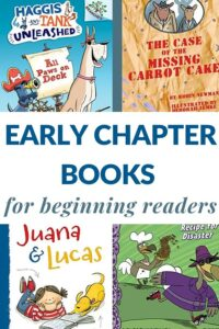beginning reader chapter books