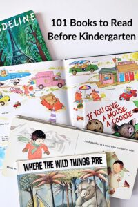 classic and new favorite children's books to listen to before kindergarten