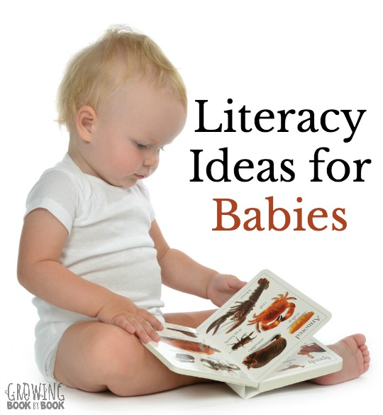 Tips and resources for building literacy skills with babies.