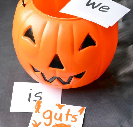 A Halloween sight word activity