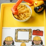 An ABC dig activity to do with preschoolers after reading Goodnight, Goodnight Construction Site.