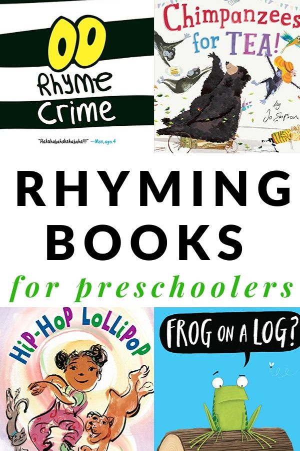 Not to be Missed Rhyming Books for Preschoolers and
