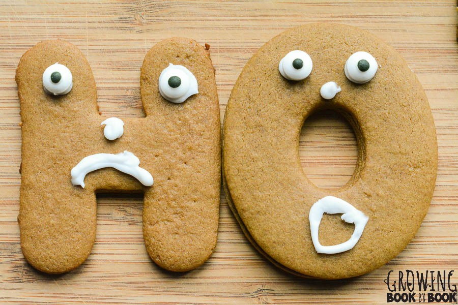 Make ABC Gingerbread Man cookies to add a little alphabet practice into your cookie making and learning.