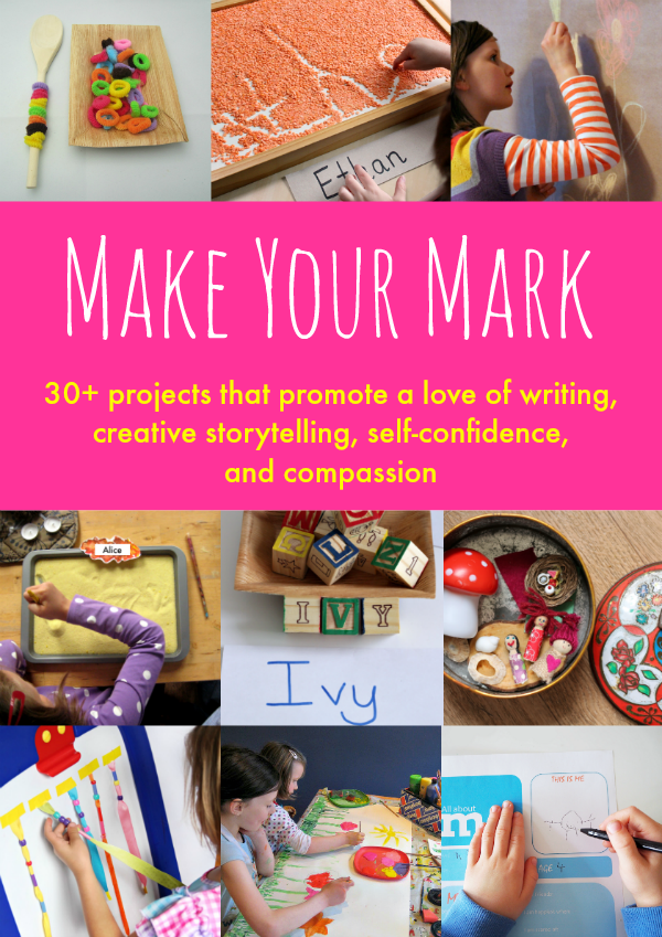 Grab your copy of Make Your Mark full of creative writing and storytelling ideas.