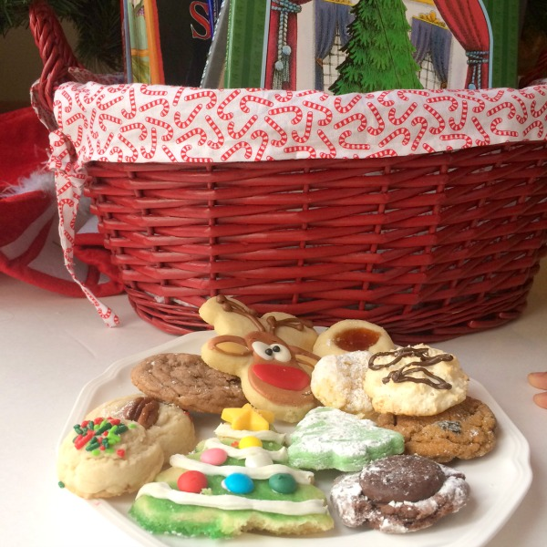 Make cookies and read books with your family to start a new monthly family ritual for the new year.