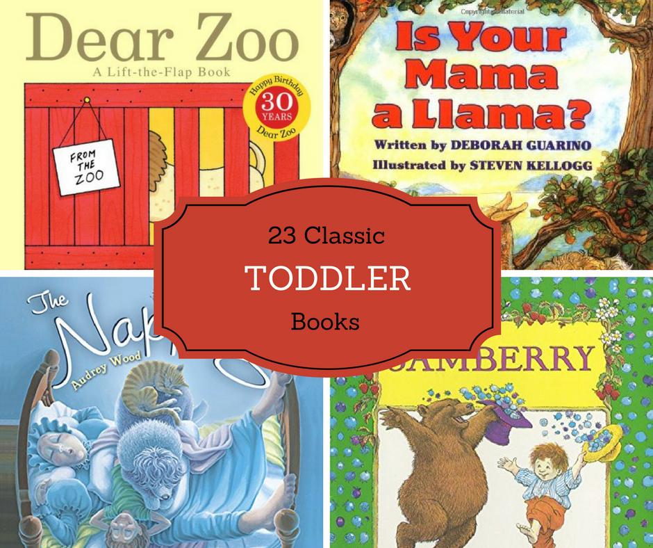 23 Classic Toddler Books