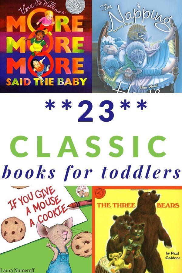 Classic books for toddlers