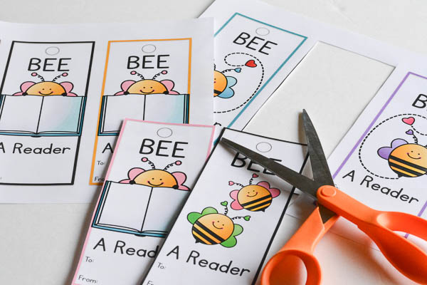 Printable Valentine Bookmarks