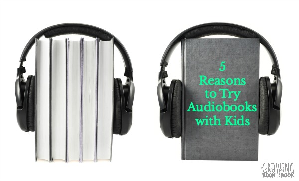Here are 5 reasons that listening to audiobooks is a great idea for kids. Suggestions for the best audiobooks for children is also included.
