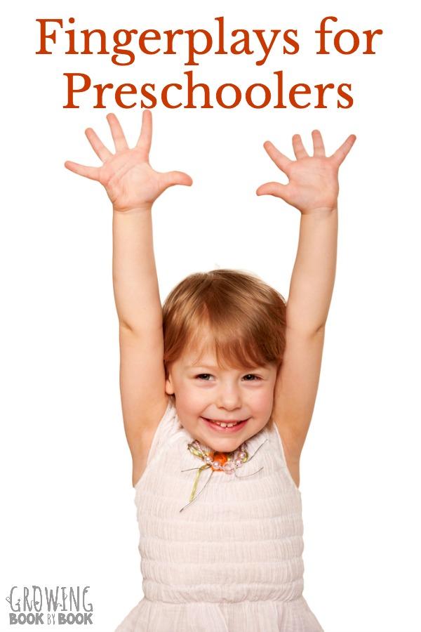 Super Fun Fingerplays For Preschoolers