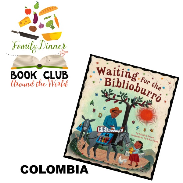 Exploring Columbia in our Around the World Family Dinner Book Club. Grab your free themed menu, table craft, conversation starters, and family service project to do with your family.