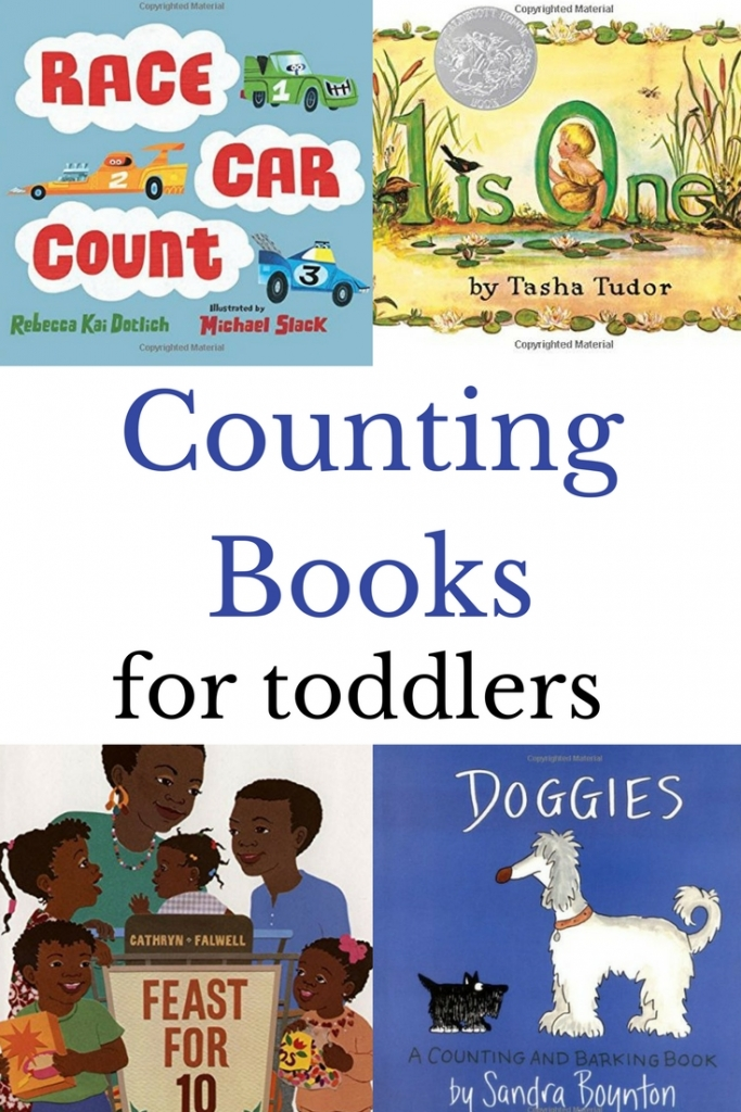Grab a few of these counting books for toddlers to enjoy and build counting skills. Best of all is that they are all board books which are perfect for toddler hands.