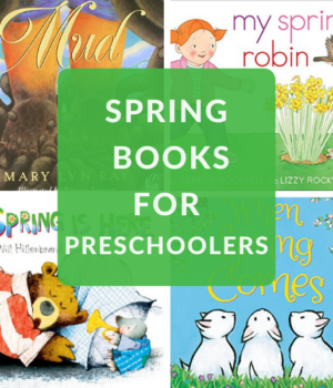 spring themed books for preschoolers