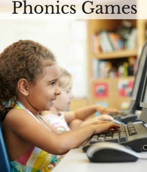 Online phonics games for beginning readers to build decoding skills and letter and sound relationships.