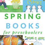 preschool books about spring