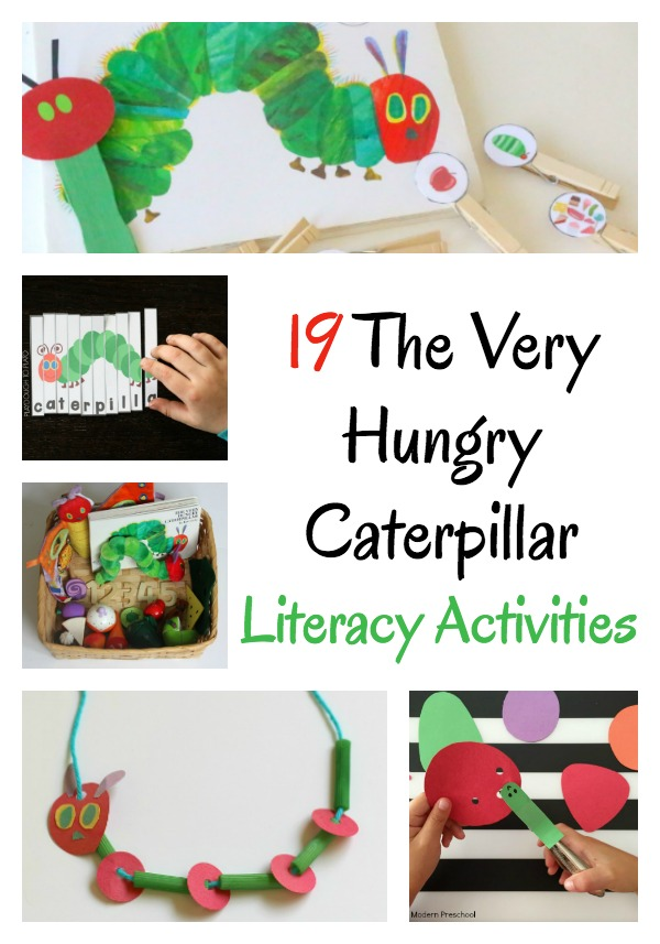 19 The Very Hungry Caterpillar Activities (Literacy Rich)