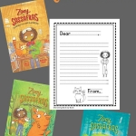 Print this free stationary for kids to write their own letters to the magical creatures in Zoey and Sassafras.