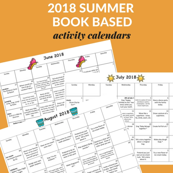 Make summer reading fun with these book activity calendars. Perfect for keeping kids engaged with books all summer long.