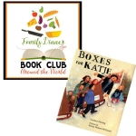 Explore the Netherlands through a Family Dinner Book Club featuring Boxes for Katje. We have your themed menu, table craft, conversation starters and family service project.