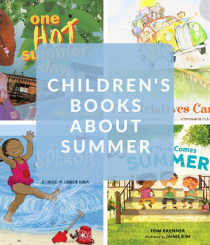 summer books for preschool