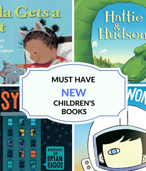 These new children's books will delight toddlers, preschoolers, and kindergarteners. Spice up your reading library!