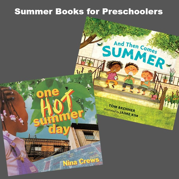 Over 10 preschool books all about summer for little ones to listen to and enjoy. Perfect titles for capturing the summer season.